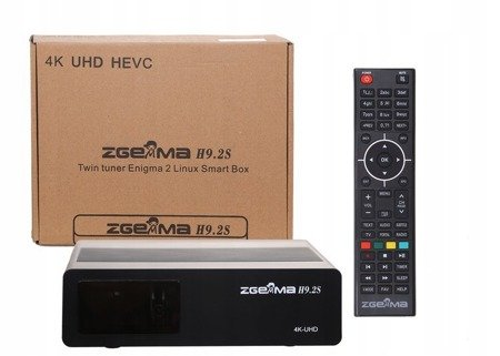 Zgemma H9.2S V.2 UHD 4K 3 SZT.